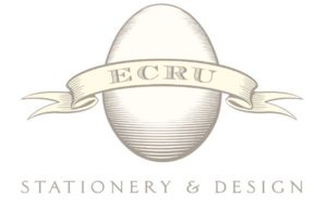 Ecru Stationery